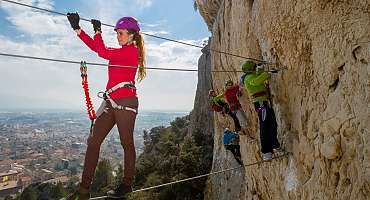 The Via Ferrata of Cavaillon