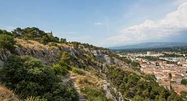 Roman Way & Santiago Hill to Cavaillon