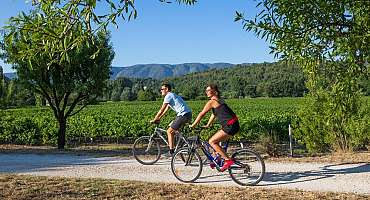 Bicycle rental in the Luberon