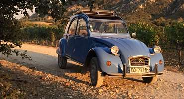 2cv in Provence Location