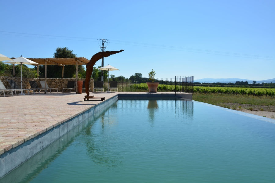 Swimming pool - Domaine des Peyre - Robion