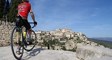 Cycling in Luberon Coeur de Provence, an exceptional asset!
