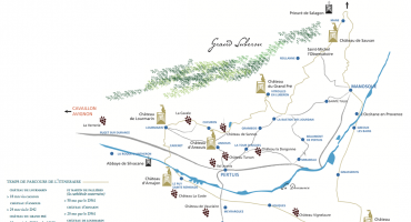 Route of the Castles and Gardens of Provence